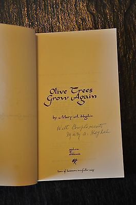 Olive Trees Grow Again by Mary Heghin Signed