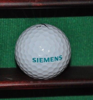 Siemens Corporation logo Golf Ball Nike Vapor Black