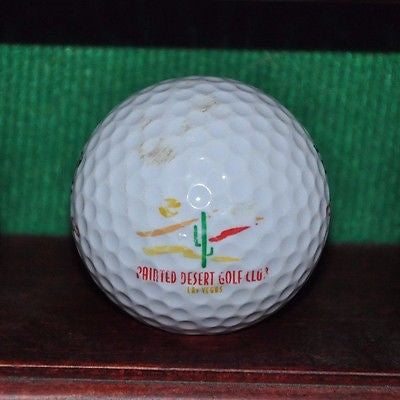 Painted Desert Golf Club Las Vegas logo golf ball.