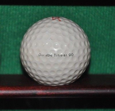 Vintage Durable Titleist 1 Golf Ball.
