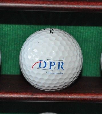 DPR Construction logo golf ball. Titleist Pro V1. Excellent.