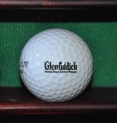 Glenfiddich Single Malt Scotch Whiskey logo golf ball.