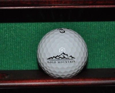Gold Mountain Golf Club logo Golf ball. Callaway.