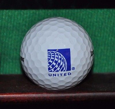 United Airlines logo golf ball. Bridgestone. Excellent Condition