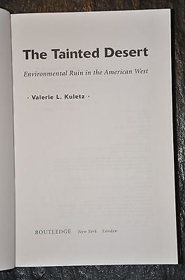 The Tainted Desert: Environmental and Social Ruin in th