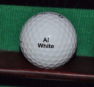 HSBC Hong Kong Shanghai Bank logo golf ball. TaylorMade Lethal Excellent Cond