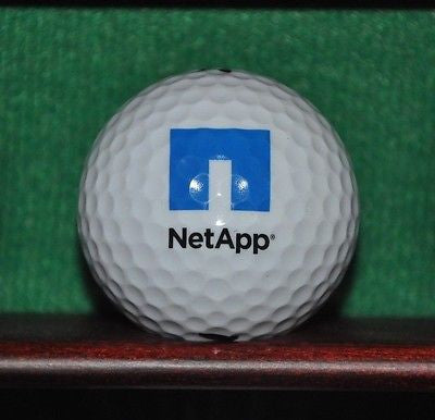 NetApp Data Storage logo golf ball. Nike.