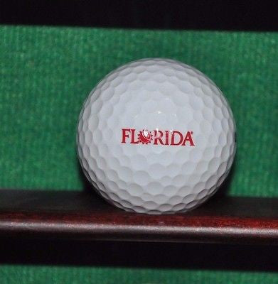 State of Florida Logo golf ball.