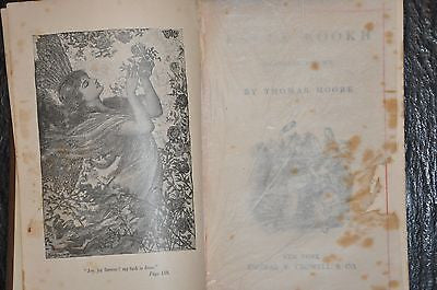 Lalla Rookh An Oriental Romance by Thomas Moore 1888, Decorative Cover w/Gilting