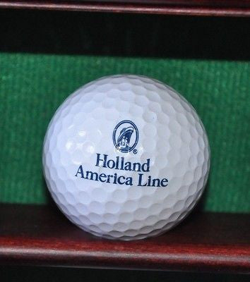 Holland American Line Cruise Ship Company log golf ball. Excellent.