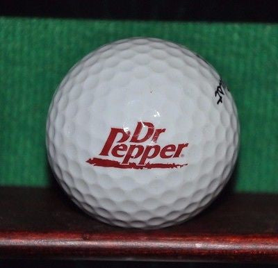 Dr Pepper logo golf ball. Titleist. Excellent Condition.