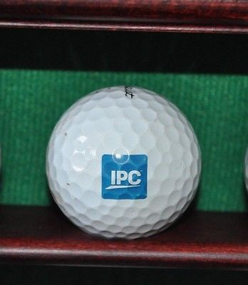 IPC Company logo golf ball. Titleist Pro V1