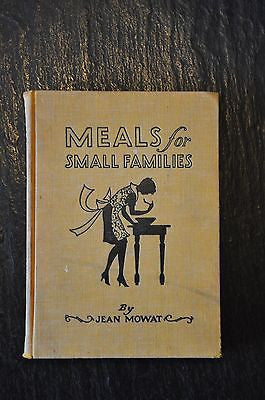Meals for Small Families (1929, Hardback)