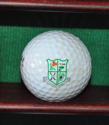 San Jose Country Club logo golf ball.