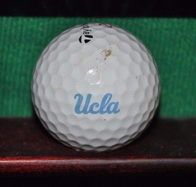 UCLA University of California Los Angeles logo golf ball. TayloreMade Lethal