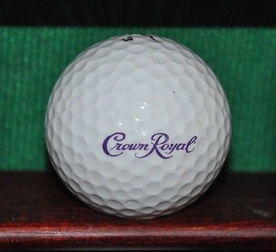 Crown Royal Whiskey logo golf ball. Nike