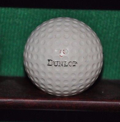 Vintage Dunlop Gold Cup Golf ball with GE General Electric logo