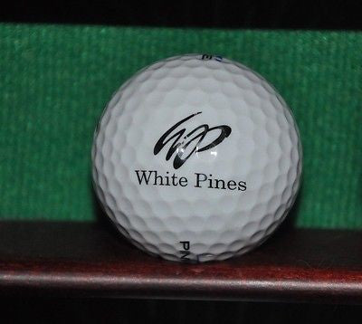 White Pines Country Club Chicago logo golf ball.