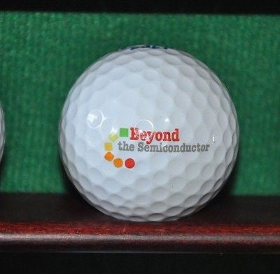 Beyond Semiconductor logo golf ball.