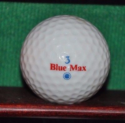 Vintage Measurex logo golf ball. Dunlop Blue Max