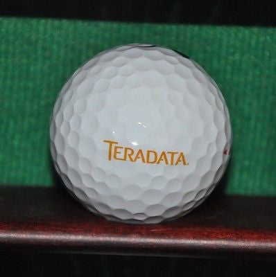 Teradata Corporation logo golf ball. Nike. Excellent Condition.