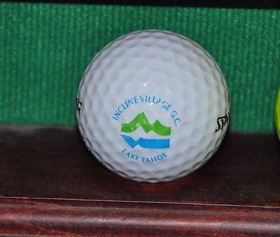 Incline Village Golf Club Lake Tahoe Nevada logo golf ball