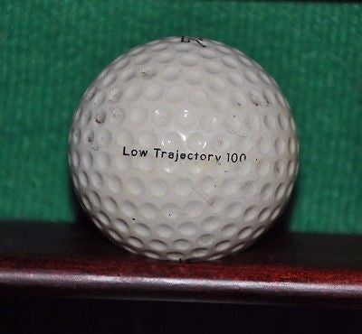 Vintage Titleist Low Trajectory 100 golf ball