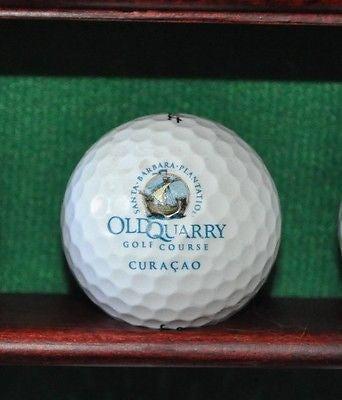 Old Quarry Gold Course at the Santa Barbara Plantation in Curacao logo golf ball