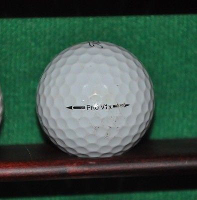 Trojan logo golf ball Titleist Pro V1