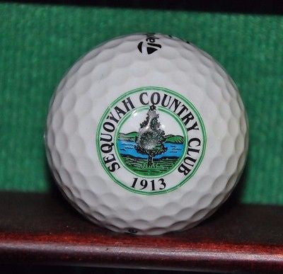 Sequoyah Country Club Oakland logo golf ball TaylorMade