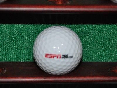 ESPN 360 logo golf ball. Nike.