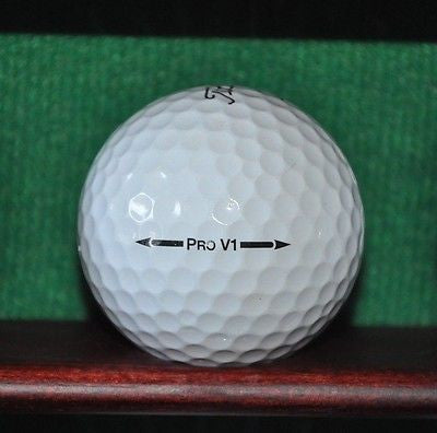 Quail Lodge Golf Club Carmel California Logo golf ball. Titleist Pro V1