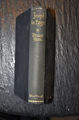 Joseph in Egypt (Vol. 1) by Thomas Mann (1940, Hardcover)