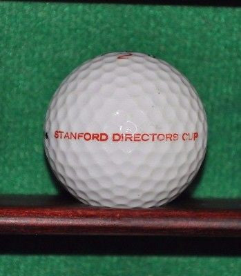Vintage Stanford Directors Cup logo golf ball. Titleist.