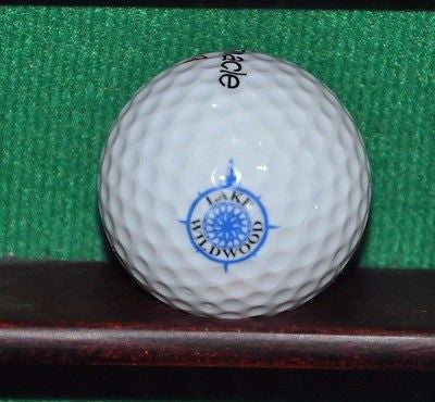 Lake Wildwood Golf Club Penn Valley California logo golf ball.