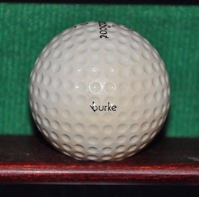 Vintage Burke Golden Scot Golf Ball. #2