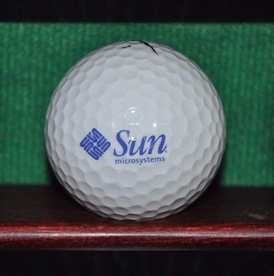 Sun Microsystems Corporation Logo Golf Ball Nike