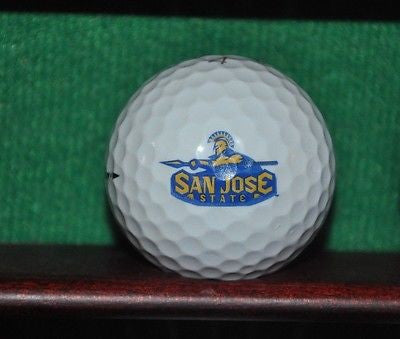 San Jose State University President's Cup logo golf ball. Titleist.