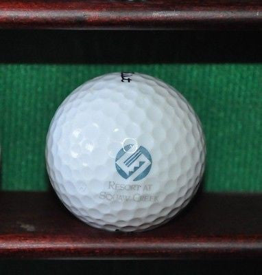 The Resort at Squaw Creek logo golf ball. Titleist