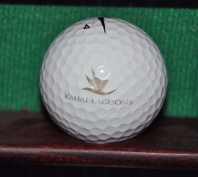 Kauai Lagoons Golf Club logo golf ball. Hawaii. Nike