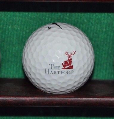 The Hartford Financial Services Group logo golf ball. Nike