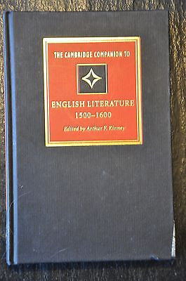 The Cambridge Companion to English Literature, 1500 1600 by Kinney, Arthur F....