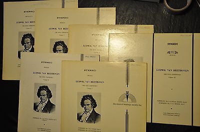 Ludwig Van Beethoven. The Nine Symphonies. LP. Complete Set.