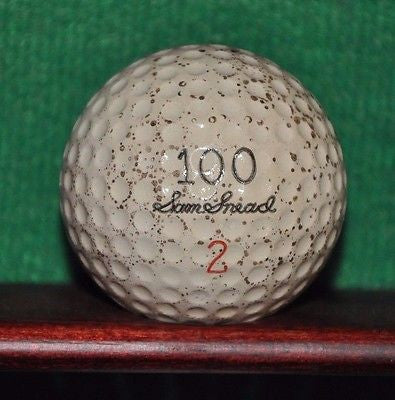 Vintage Sam Snead 100 Signature Liquid Center Golf Ball.