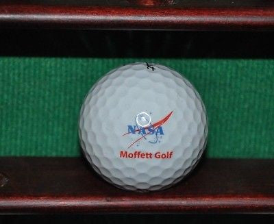 NASA logo golf ball. Titleist.