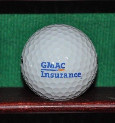 General Motors GMAC logo golf ball