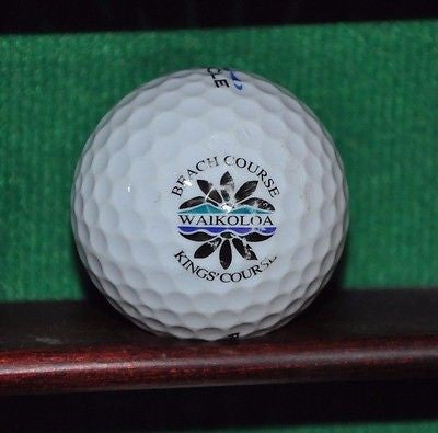 Waikaloa Beach Course Kings Course logo golf ball