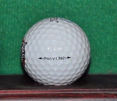 Coca-Cola Company logo golf ball. Titleist Pro V1