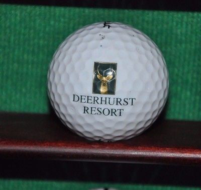 Deerhurst Resort Lakeside Golf Course Ontario Canada logo golf ball. Titleist.