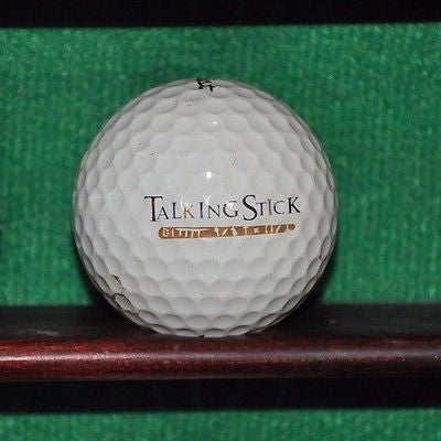Talking Stick Golf Club Scottsdale Arizona Logo Golf Ball. Titleist Pro V1